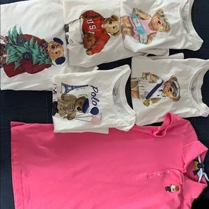 Girls Ralph Lauren polo bear bundle